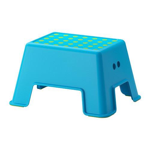 Ikea Bolmen Plastic White NON Slip Children Adults Bathroom Step Stool ...