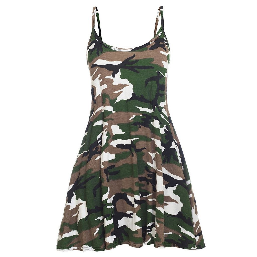 Camouflage clothes for women