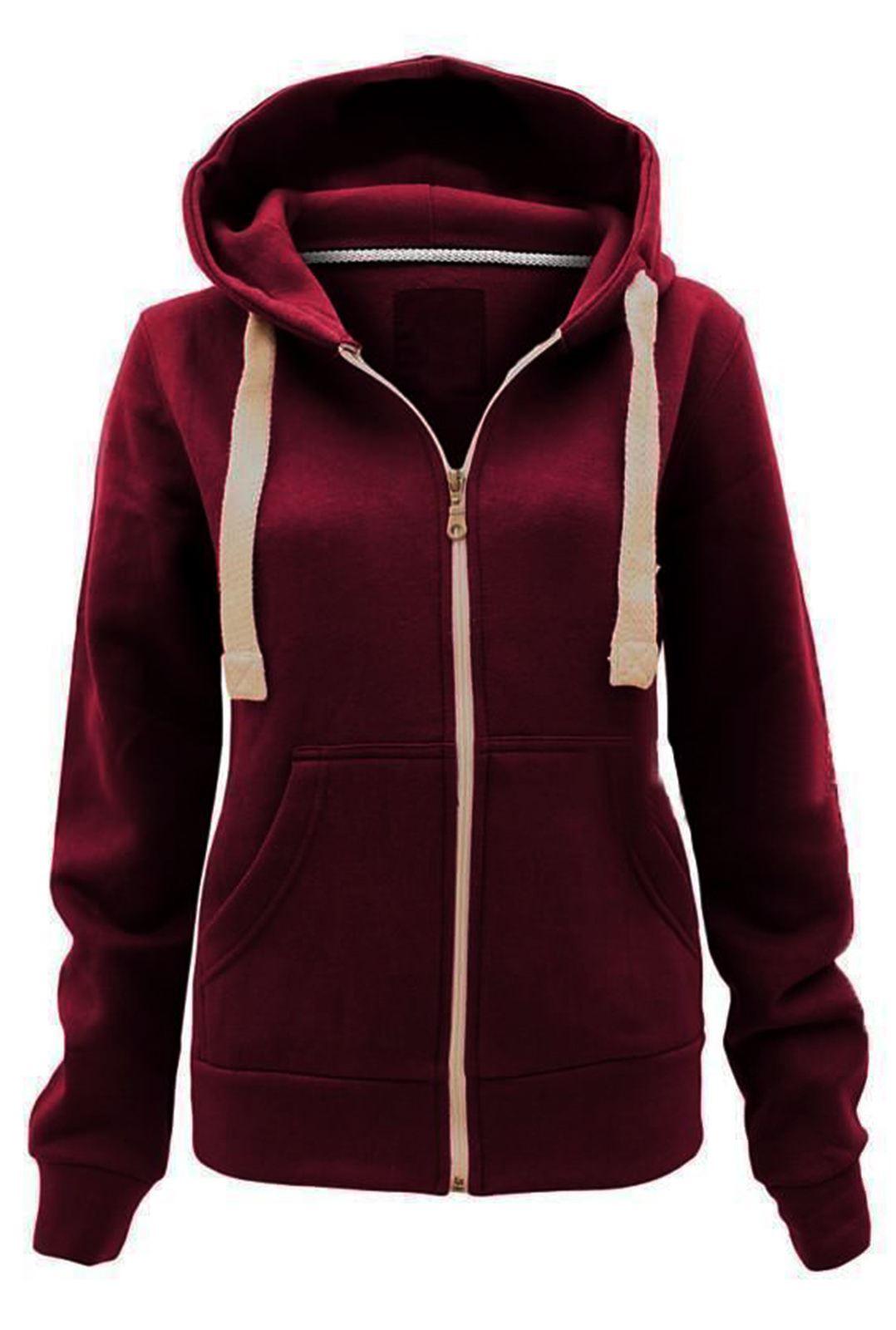 Women fleece hoodie