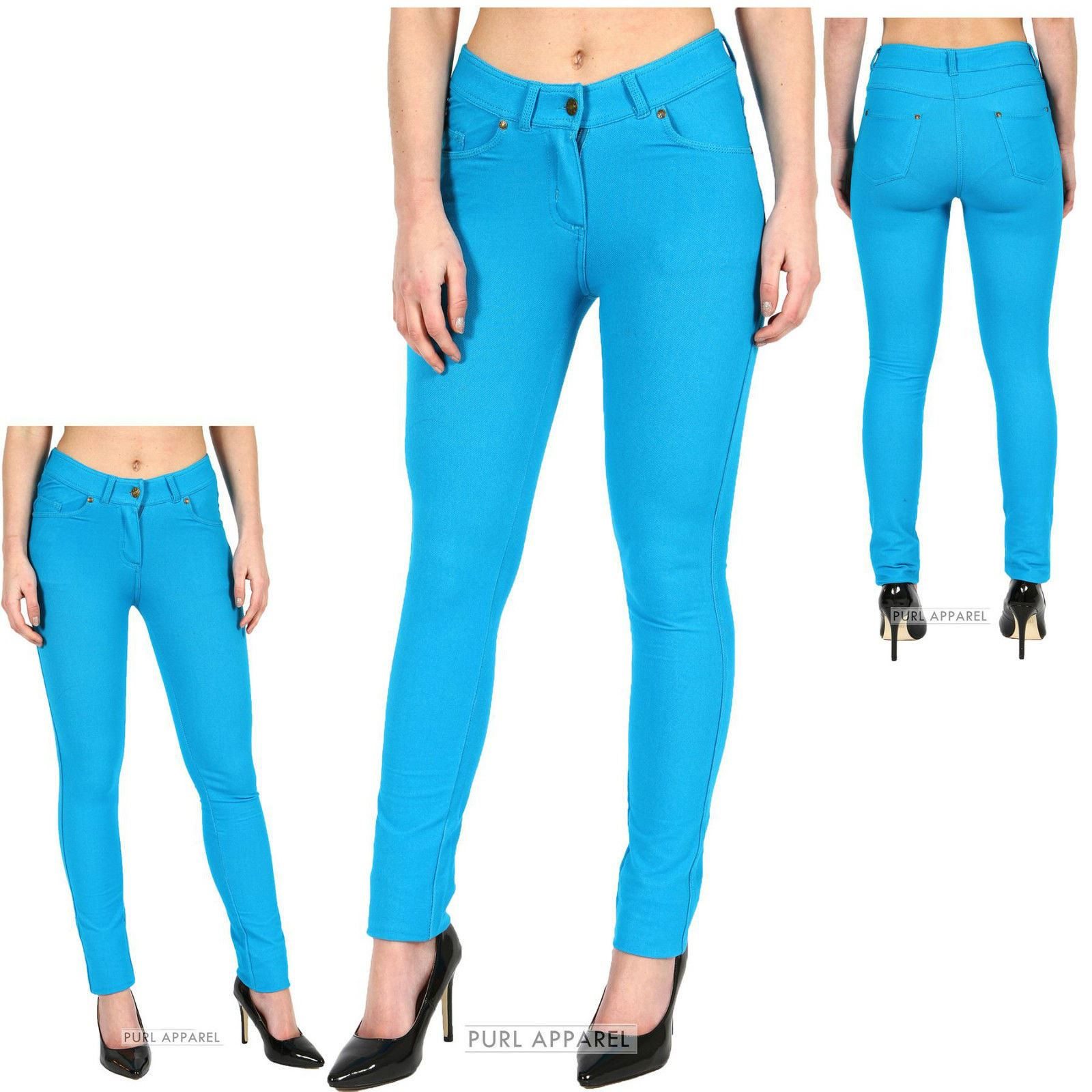 Coloured Womens Jeans