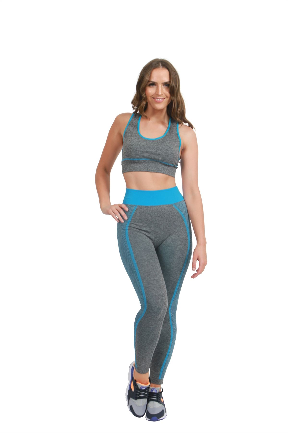Ladies tracksuit sportswear yoga workout fitness exercise for Lady fitness