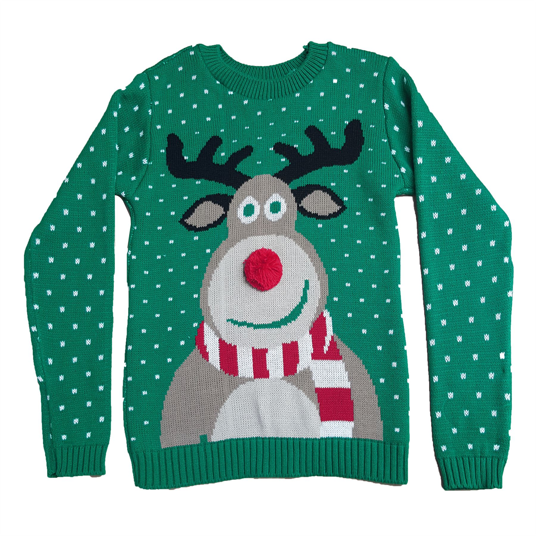 The Kids Christmas Jumpers Range from Funky Christmas Jumpers are available in sizes 2, 4, 6, 8 & 10 (see size guide for more detail). We ship all of our Christmas jumpers, sweaters and cardigans to Ireland, the UK, the US and even the North Pole.