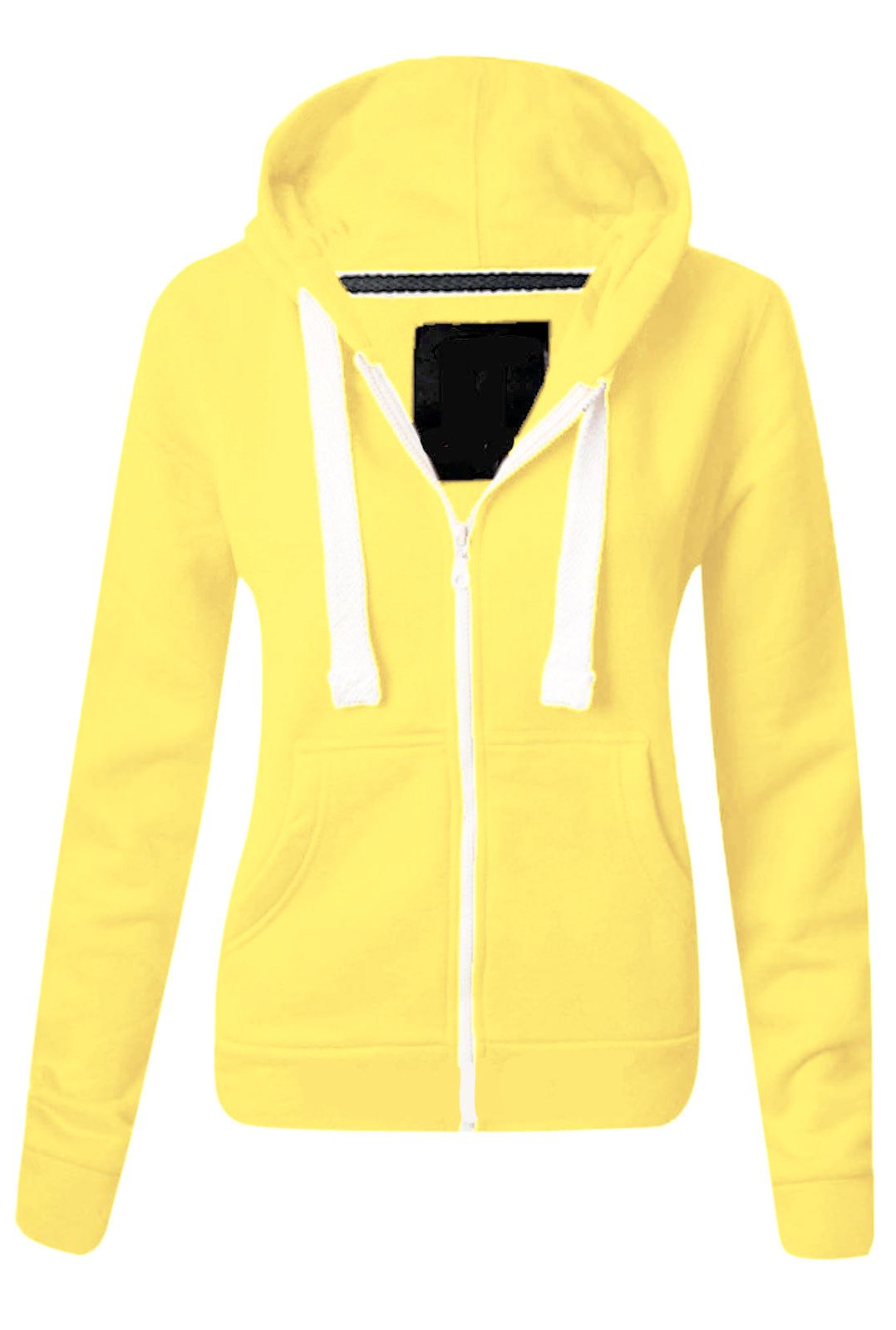 Yellow Hoodie Womens | Fashion Ql