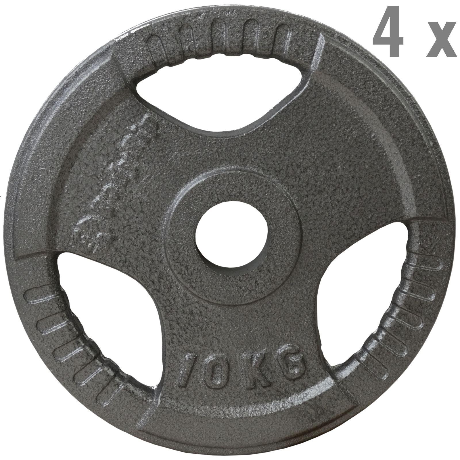 Tri grip olympic weight plates disc discs gym train cast