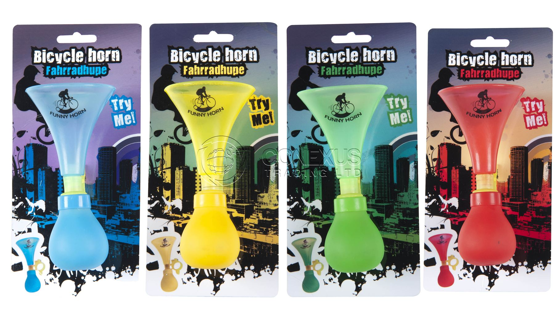 BUY-3-GET-1-FREE-COLOUR-BICYCLE-FUNNY-HORN-FOR-KIDS-CHILDREN-BIKE-ASSORTED