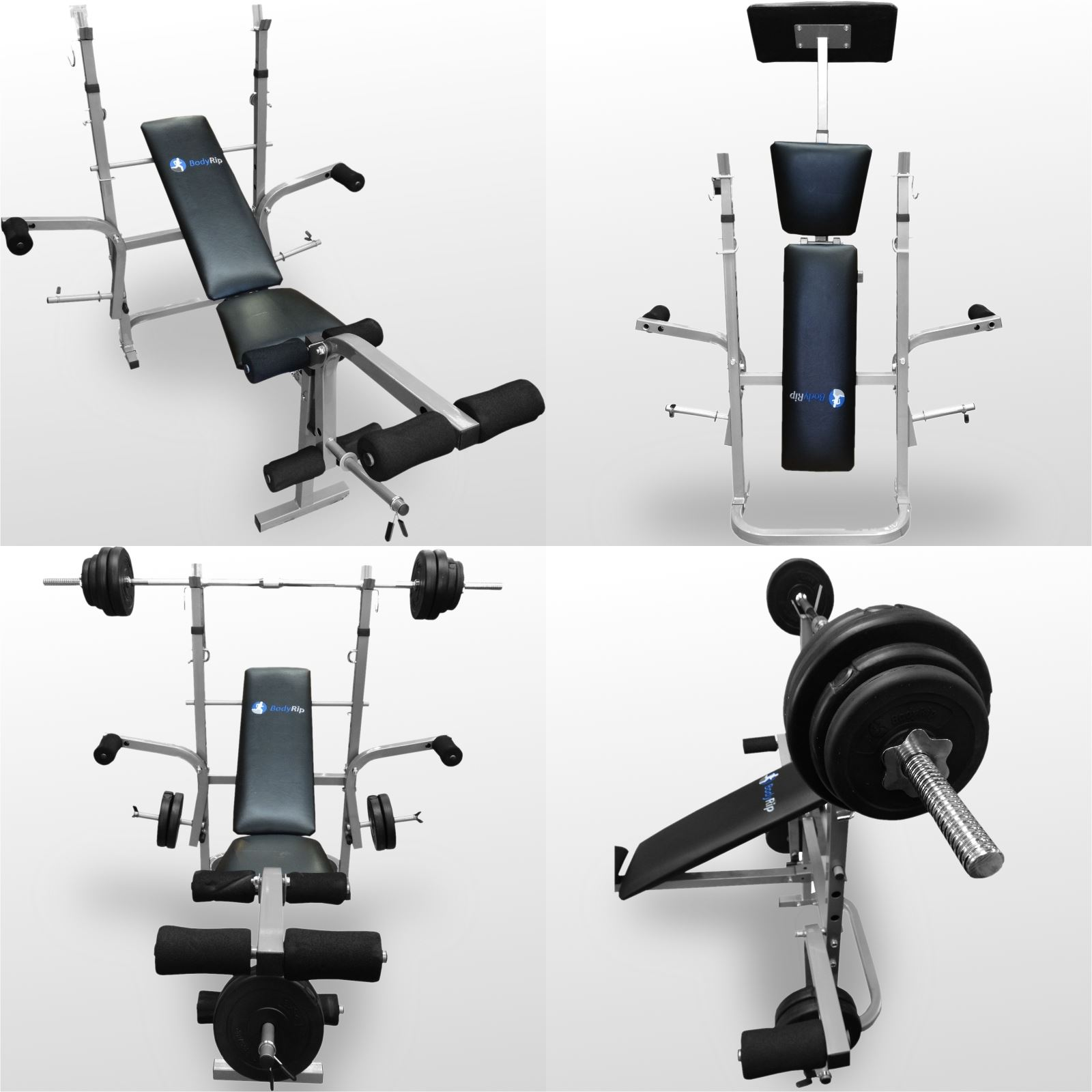 Bodyrip Folding Weight Bench Gym Exercise Lifting Chest
