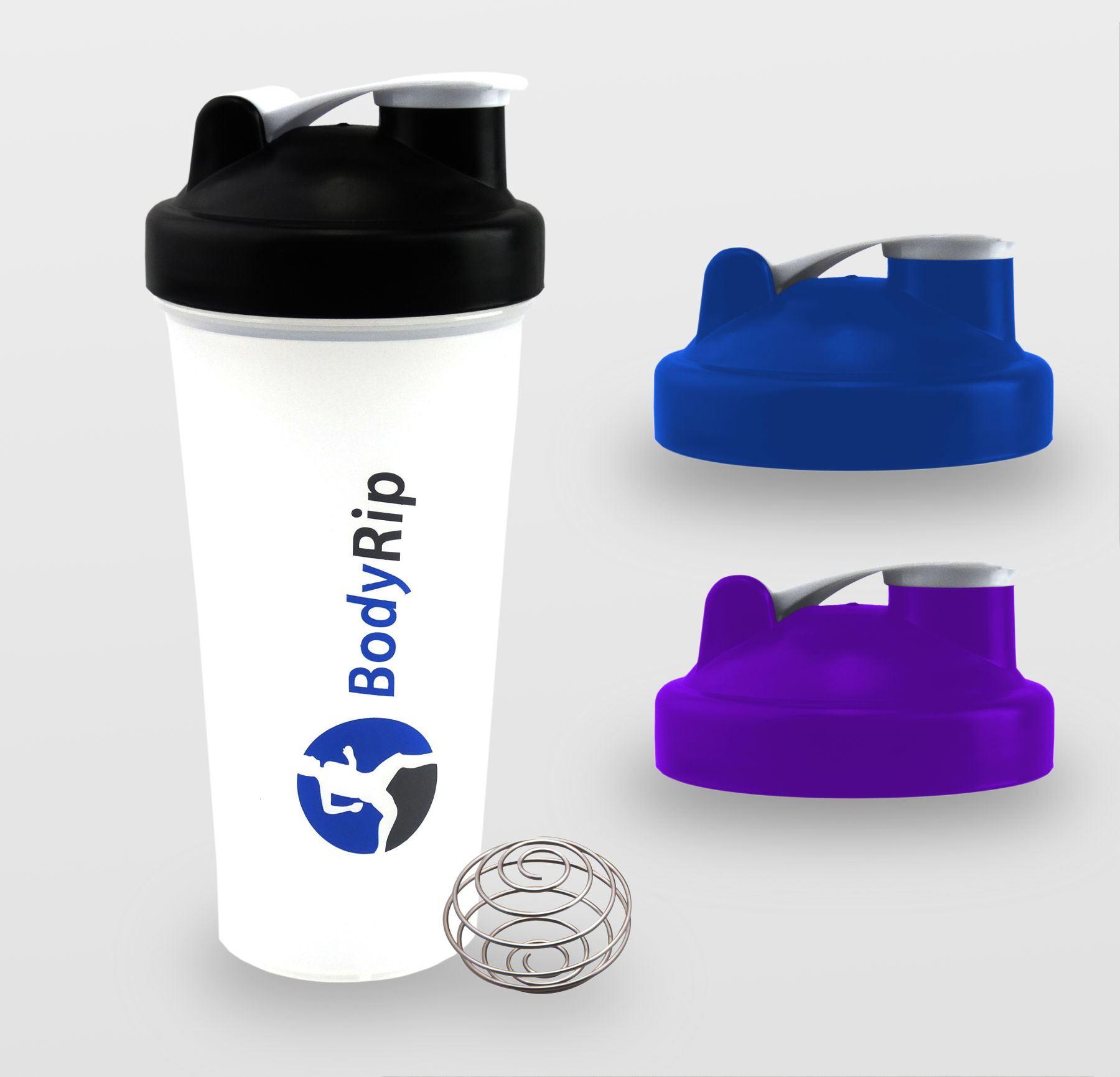 Protein Shaker Bottle Nike: BodyRip 600ml 20oz PROTEIN SHAKER BLENDER MIXER BOTTLE CUP