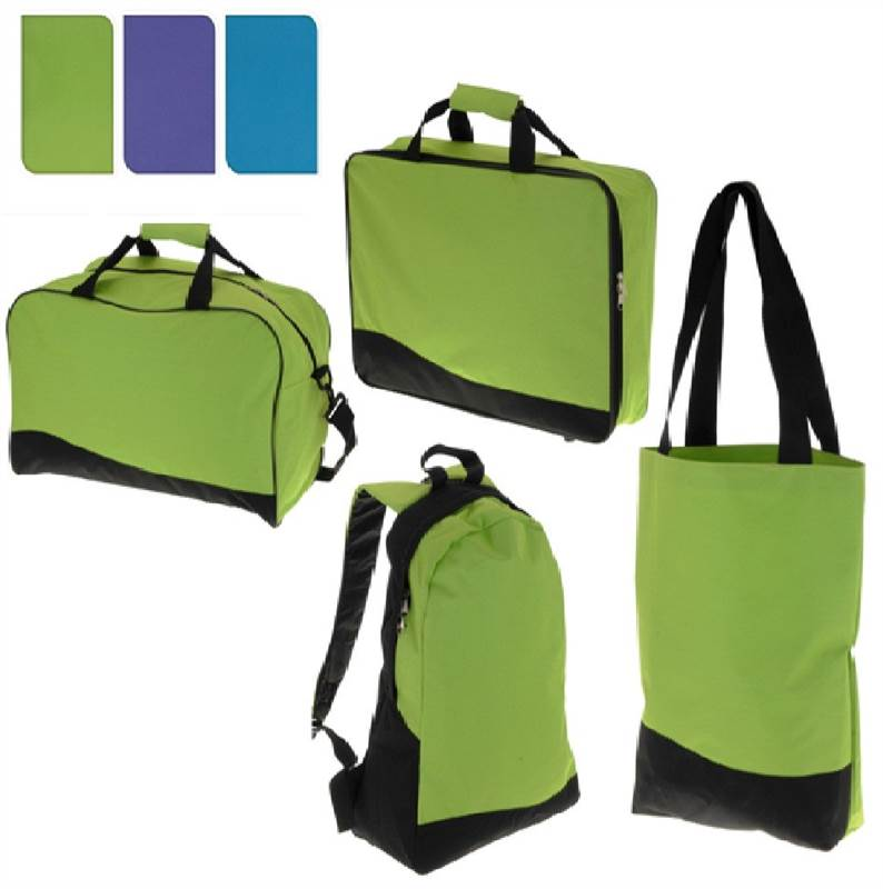 TRAVEL-LUGGAGE-BAG-SET-4-PIECES-BACKPACK-RUCKSACK-TOTE-HOLDALL-DUFFLE-SUITCASE