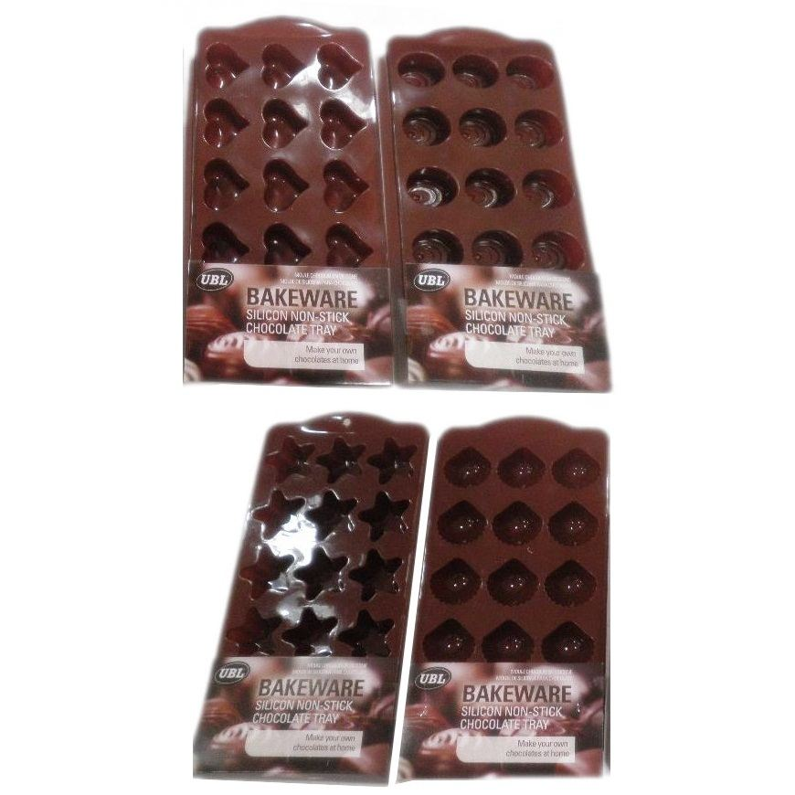 BUY-3-GET-1-FREE-SHAPED-CHOCOLATE-CAKE-MOLD-BAKING-ICE-TRAY-NON-STICK-SILICONE