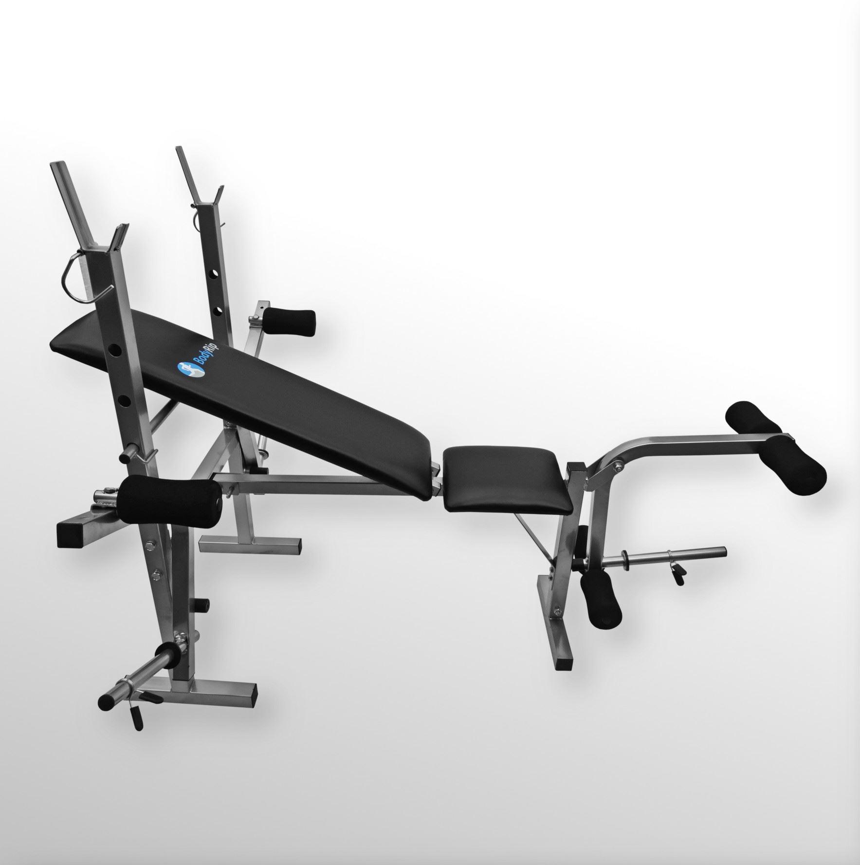 Bodyrip easy folding weight bench rack incline