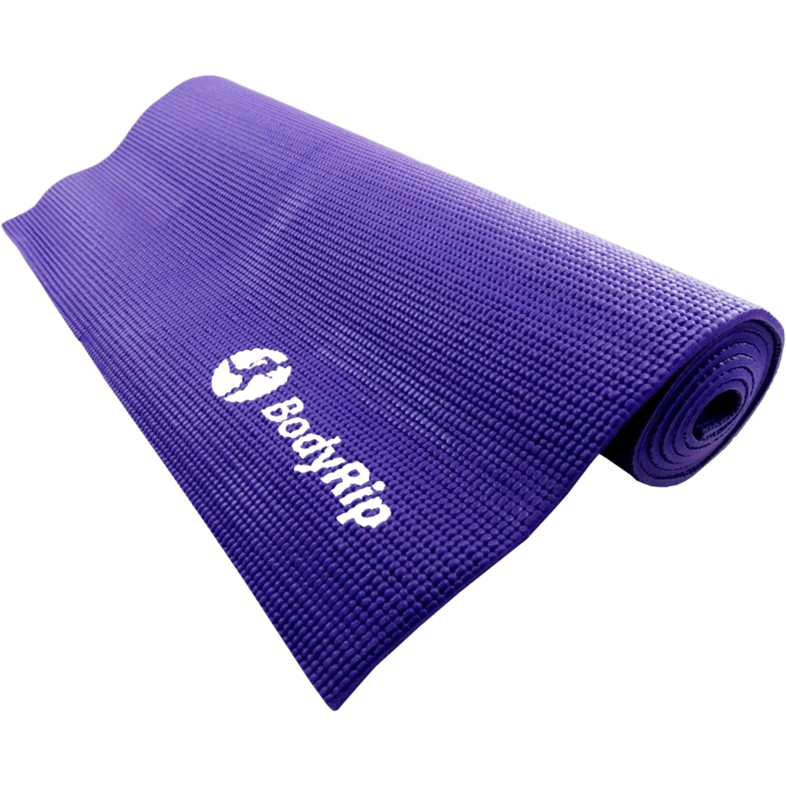 BodyRip PURPLE THICK FOAM YOGA PILATES GYM MAT 6mm FITNESS