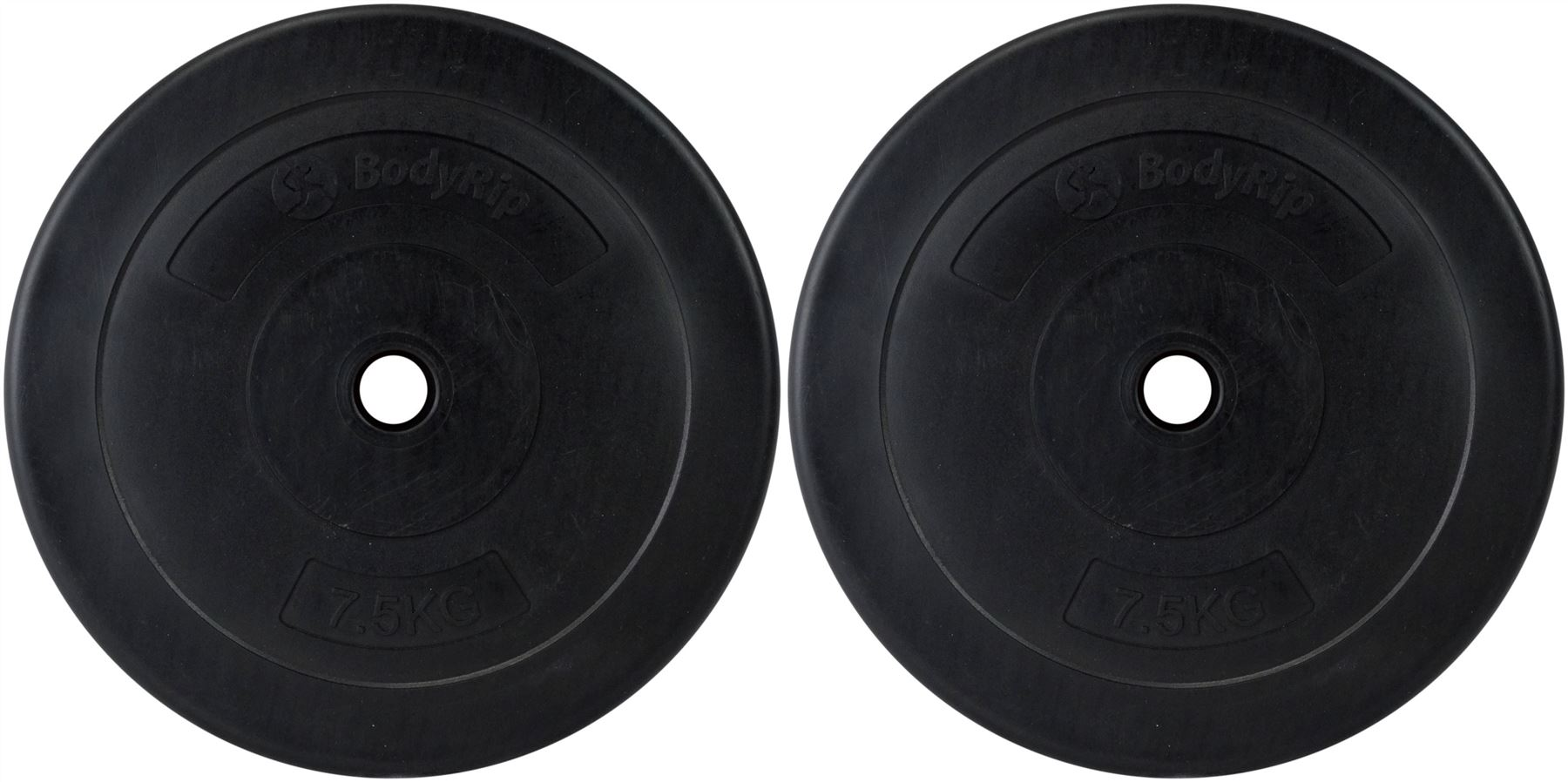 Bodyrip 1 Quot Standard 1 25 25kg Vinyl Weight Plates Discs