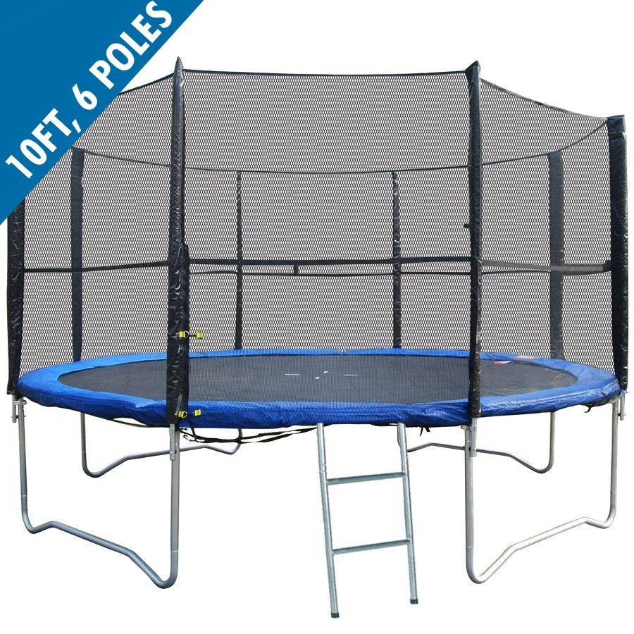New Heavy Duty Trampoline 14 Ft With Ladder Safety Net: BodyRip REPLACEMENT TRAMPOLINE SAFETY NET ENCLOSURE