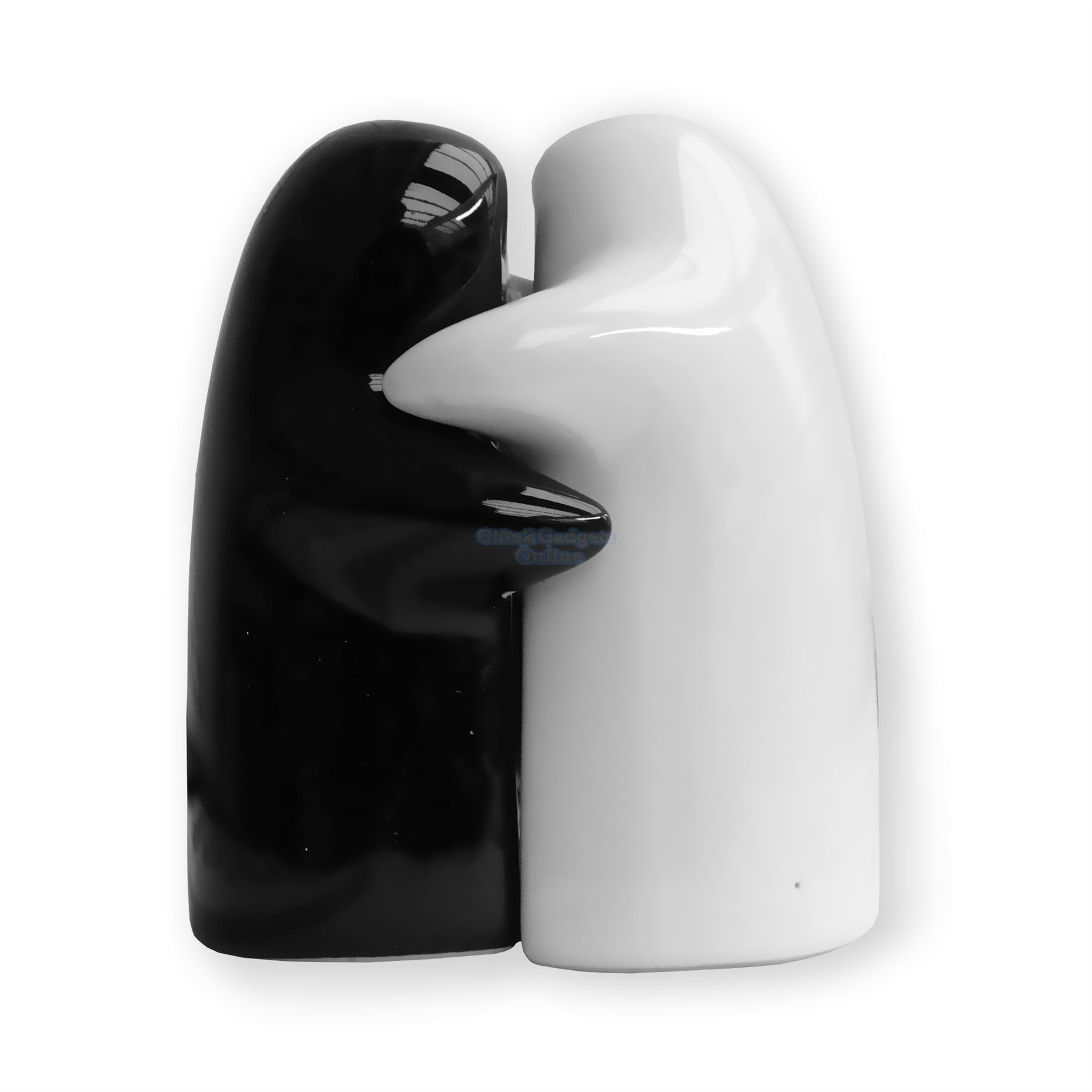 Novelty hugging couple lovers salt pepper shakers cruet - Hugging salt and pepper shakers ...