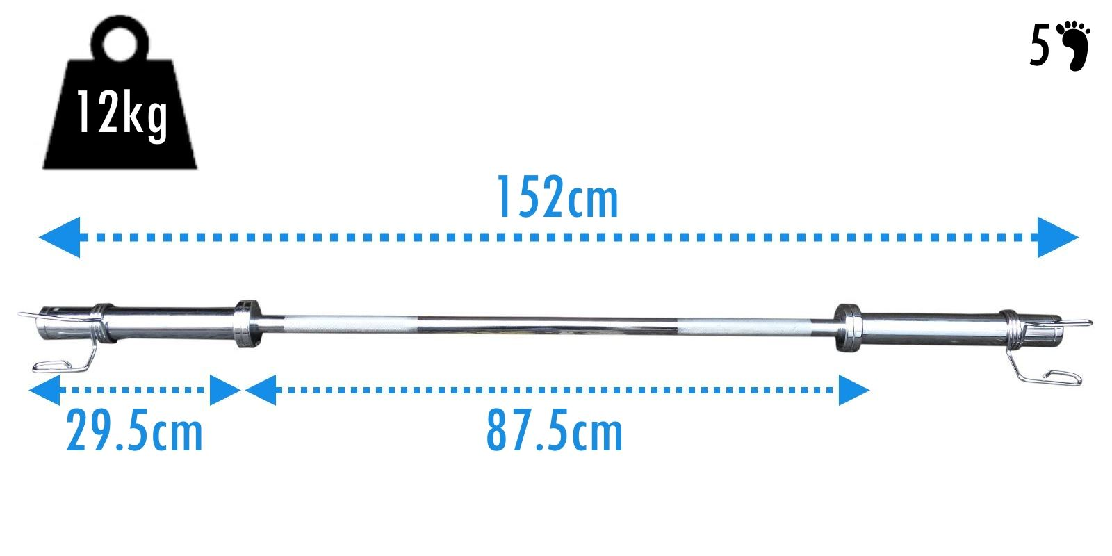 Bodyrip Olympic Bar Barbell Weight Plate Lifting 5