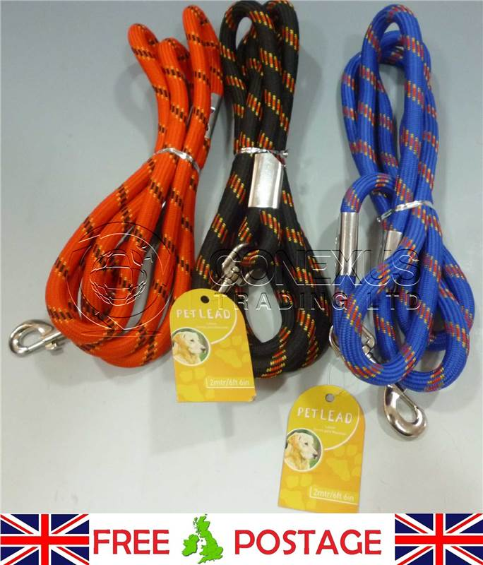 BUY-3-GET-1-FREE-STRONG-PET-LEAD-CORD-200-CM-HEAVY-DUTY-DOG-ANIMAL-PETS-HOME