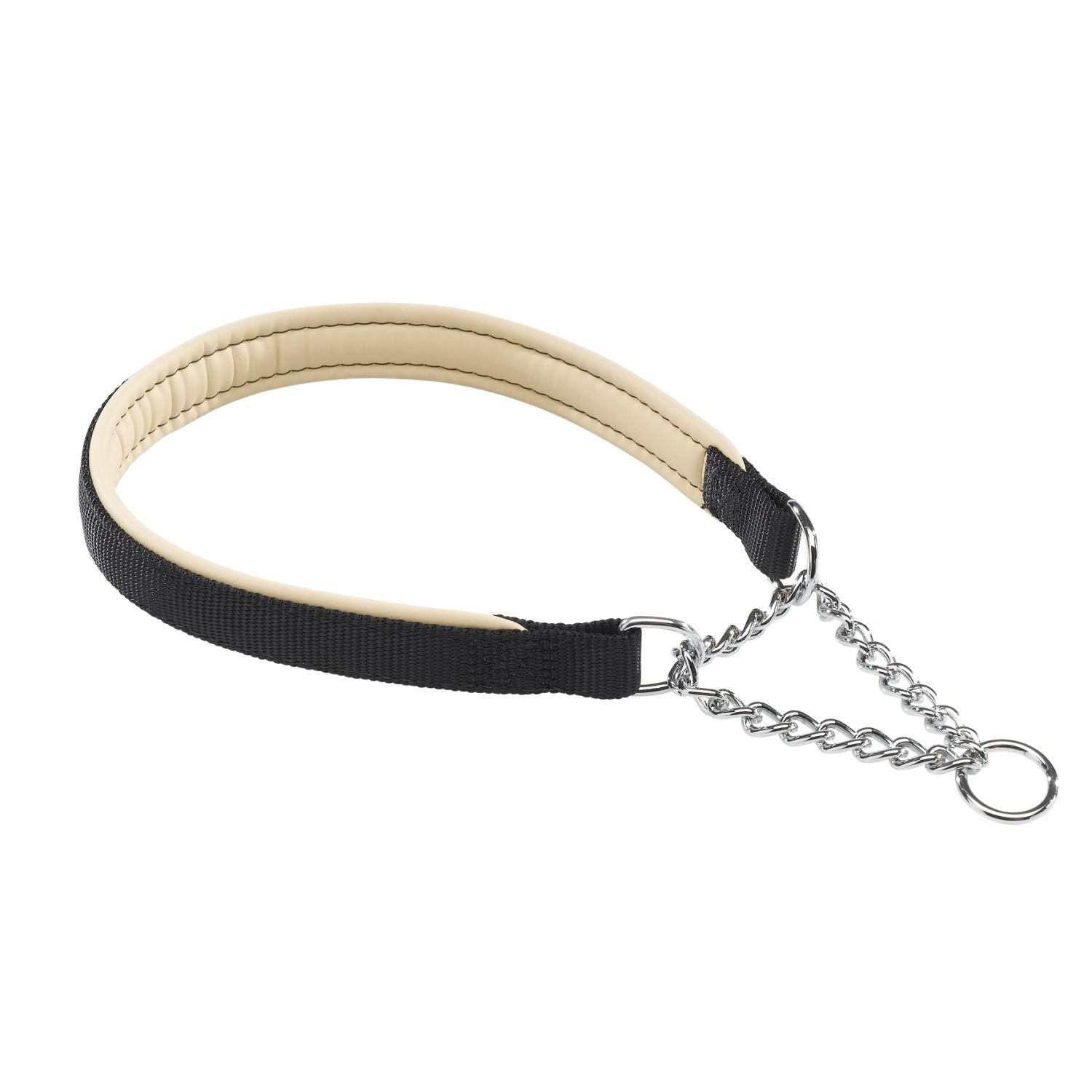 FERPLAST DAYTONA NYLON COLLAR WITH METAL CHAIN DOG DOGS ...