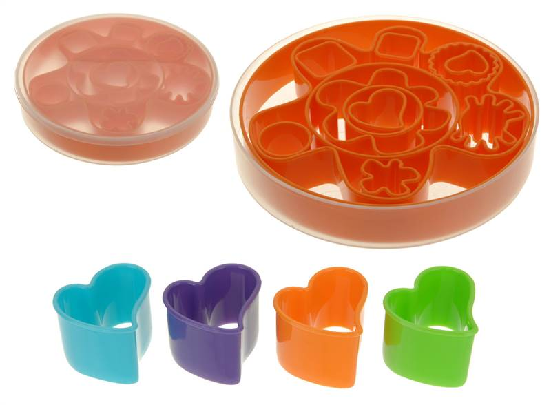 13-PIECE-COOKIE-CUTTERS-SHAPERS-PASTRY-BISCUIT-MOULD-BAKE-BAKING-COOKING-COOK
