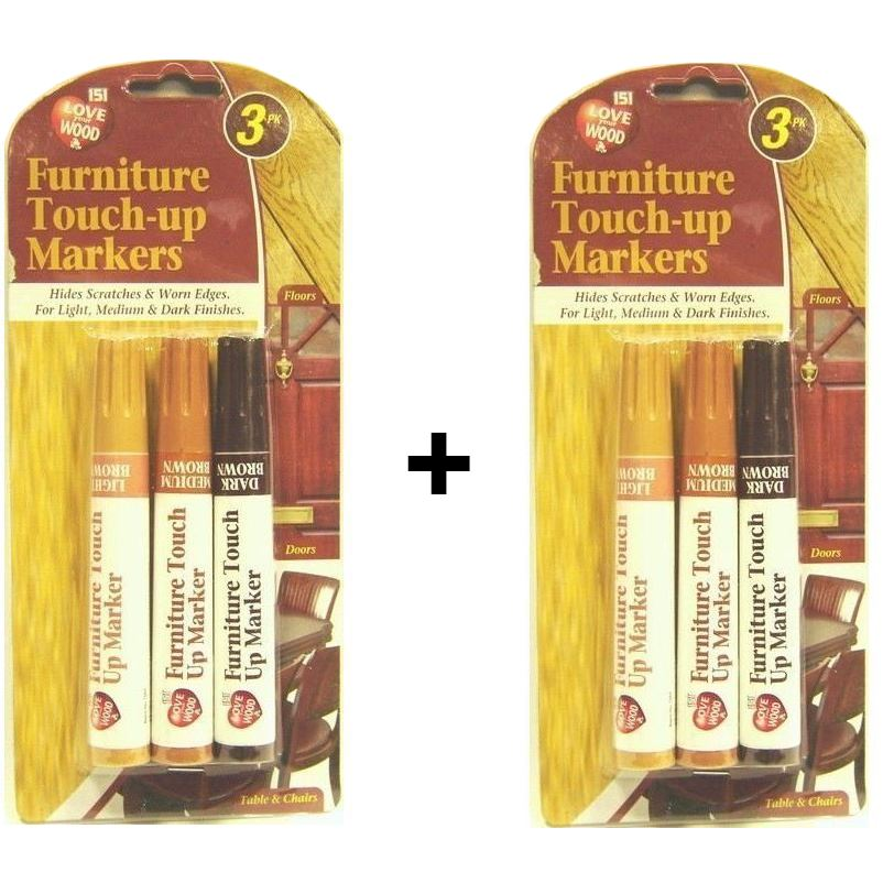 BUY 1 GET 1 FREE FURNITURE SCRATCH REPAIR TOUCH UP MARKER