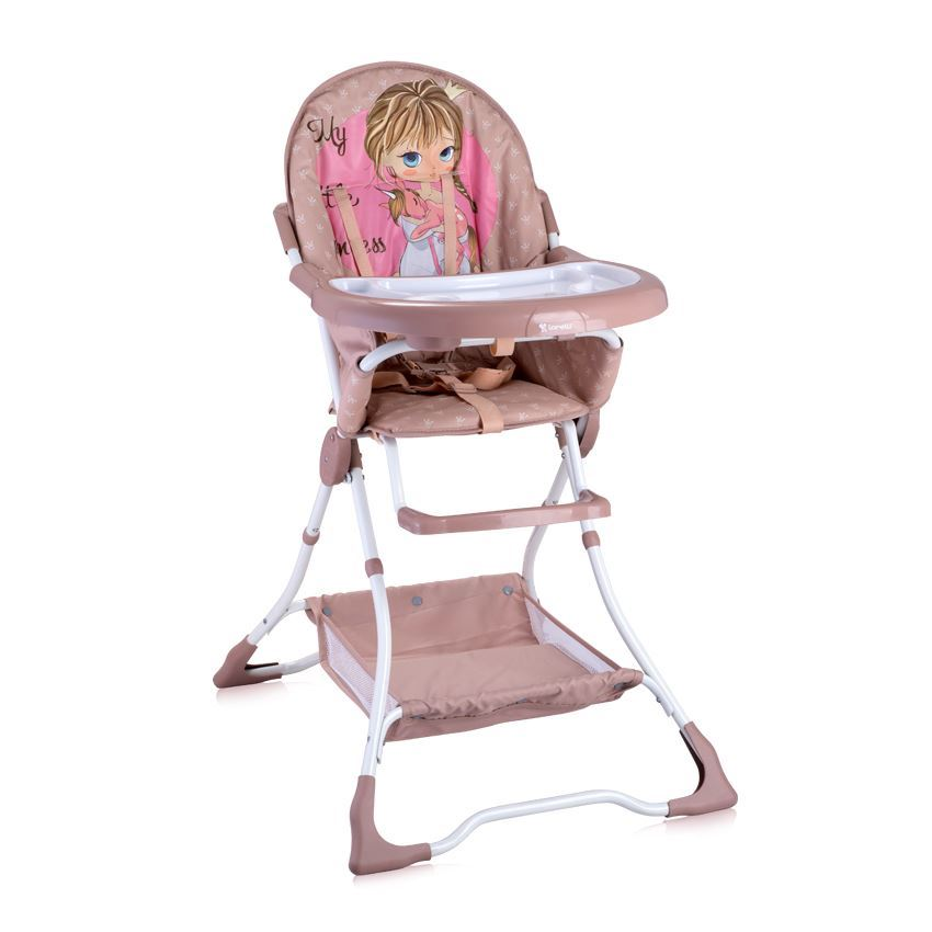 LORELLI BRAVO BABY FEEDING HIGH CHAIR SEAT FOLDING TODDLER