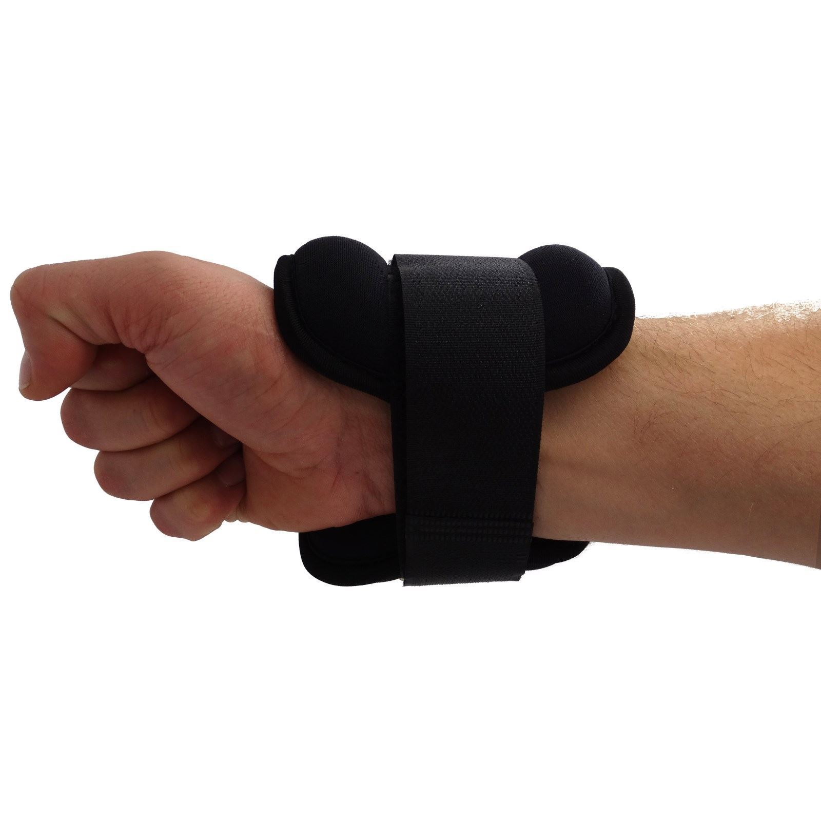 how to put on wrist weights