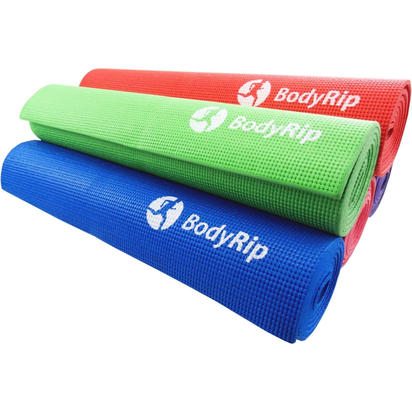 Bodyrip Thick Foam Yoga Pilates Gym Mat 6mm The More You