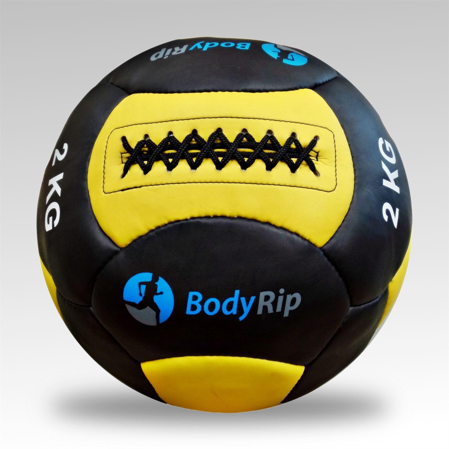 Reactor Rubber Medicine Ball 3kg Yellow 1266306 Core Fitness