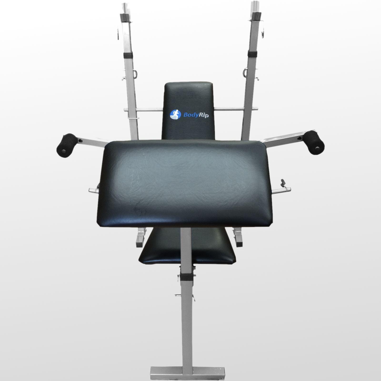 Bodyrip Folding Weight Bench Gym Exercise Lifting Chest Press Leg Fitness Ebay