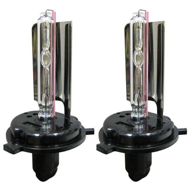 h4 single beam 8000k xenon hid bulbs 35w 12v replacement conversion kit pair ebay. Black Bedroom Furniture Sets. Home Design Ideas