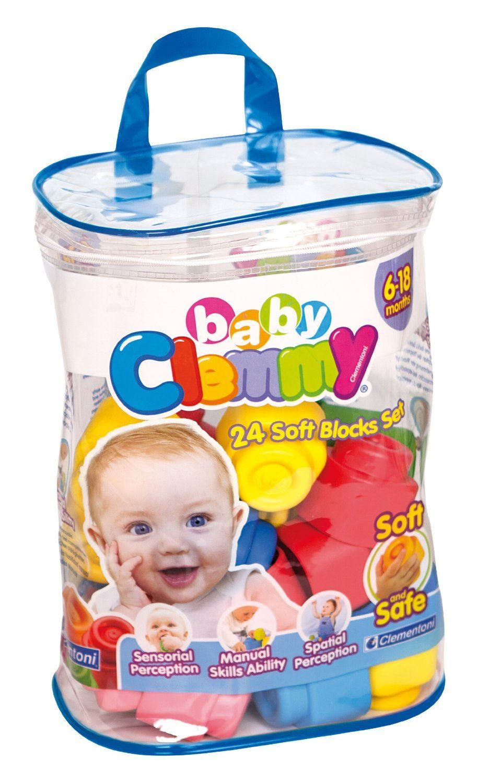 Clementoni Baby Clemmy 24 Soft Blocks Set