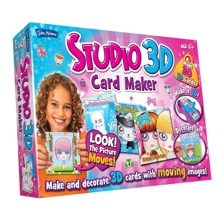 John Adams Studio 3d Card Maker