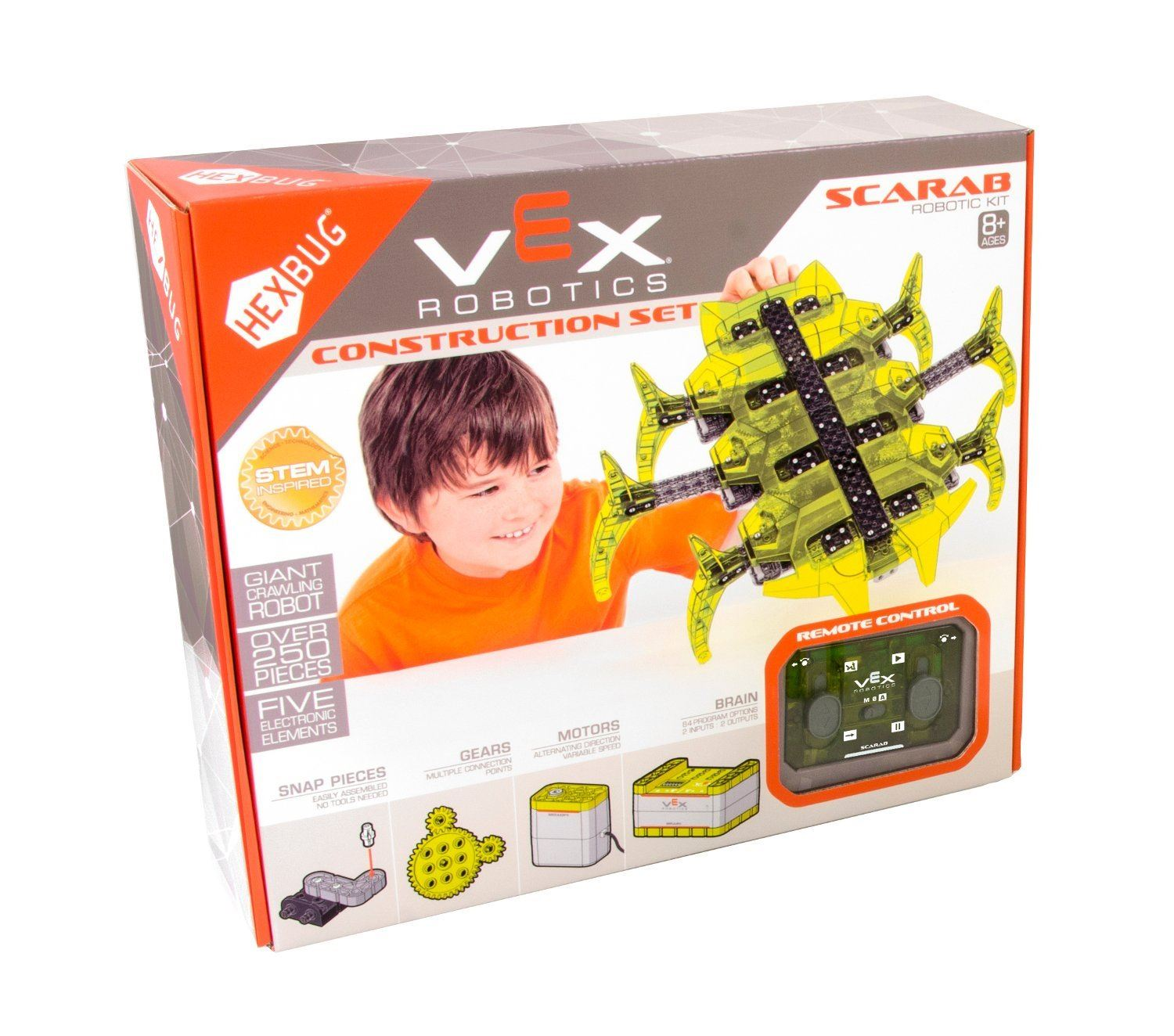 Hexbug Vex Robotics Construction Set Scarab Robotic Kit