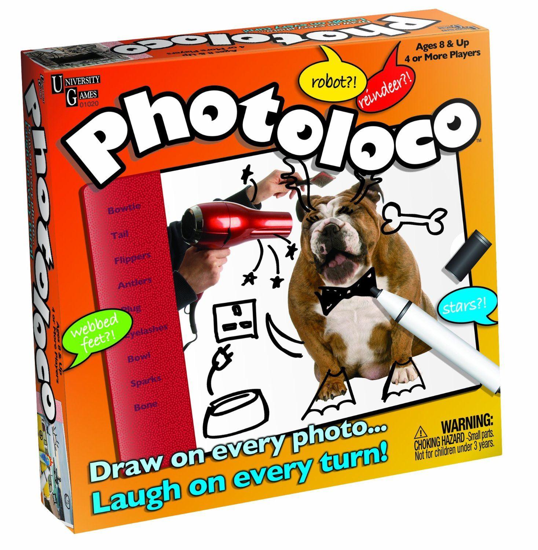 University Games Photoloco Game English