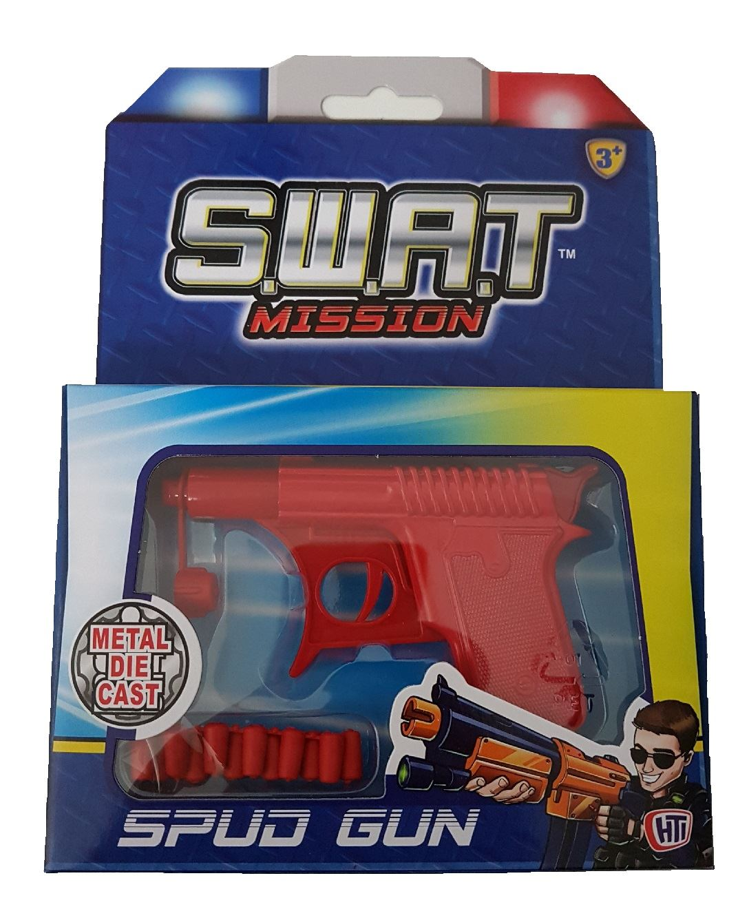 S.w.a.t Mission Spud Gun (red) #31752