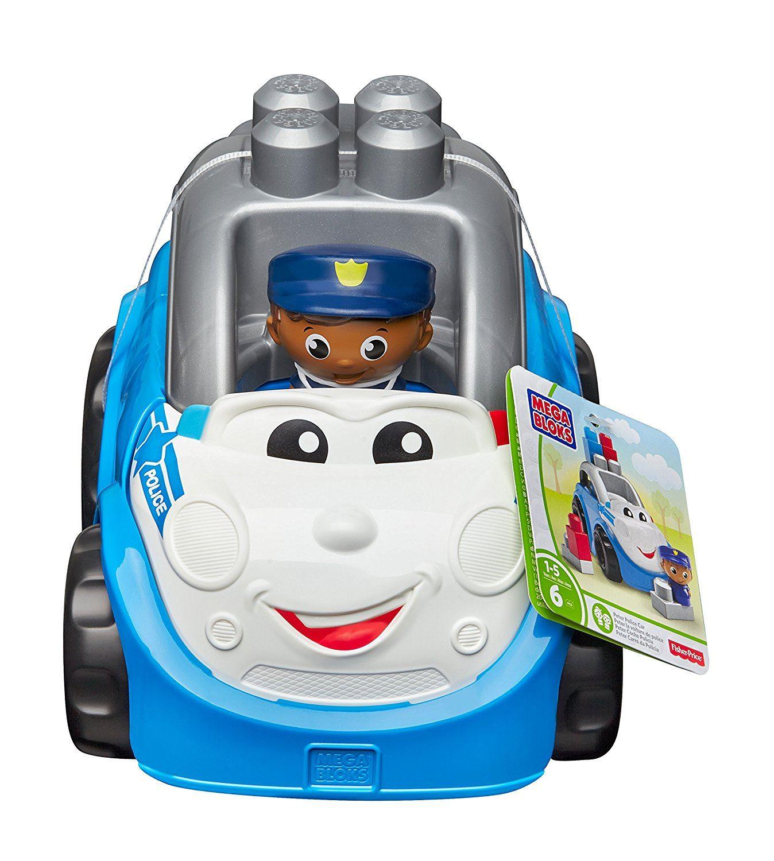 Mega Blocks Peter Police Car