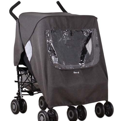 Koo-di Keep Us Dry Double Stroller Raincover