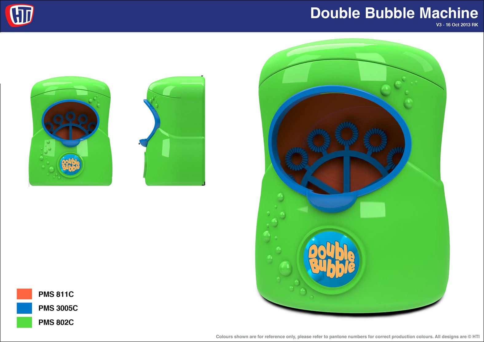 Double Bubble Electronic Bubble Generator