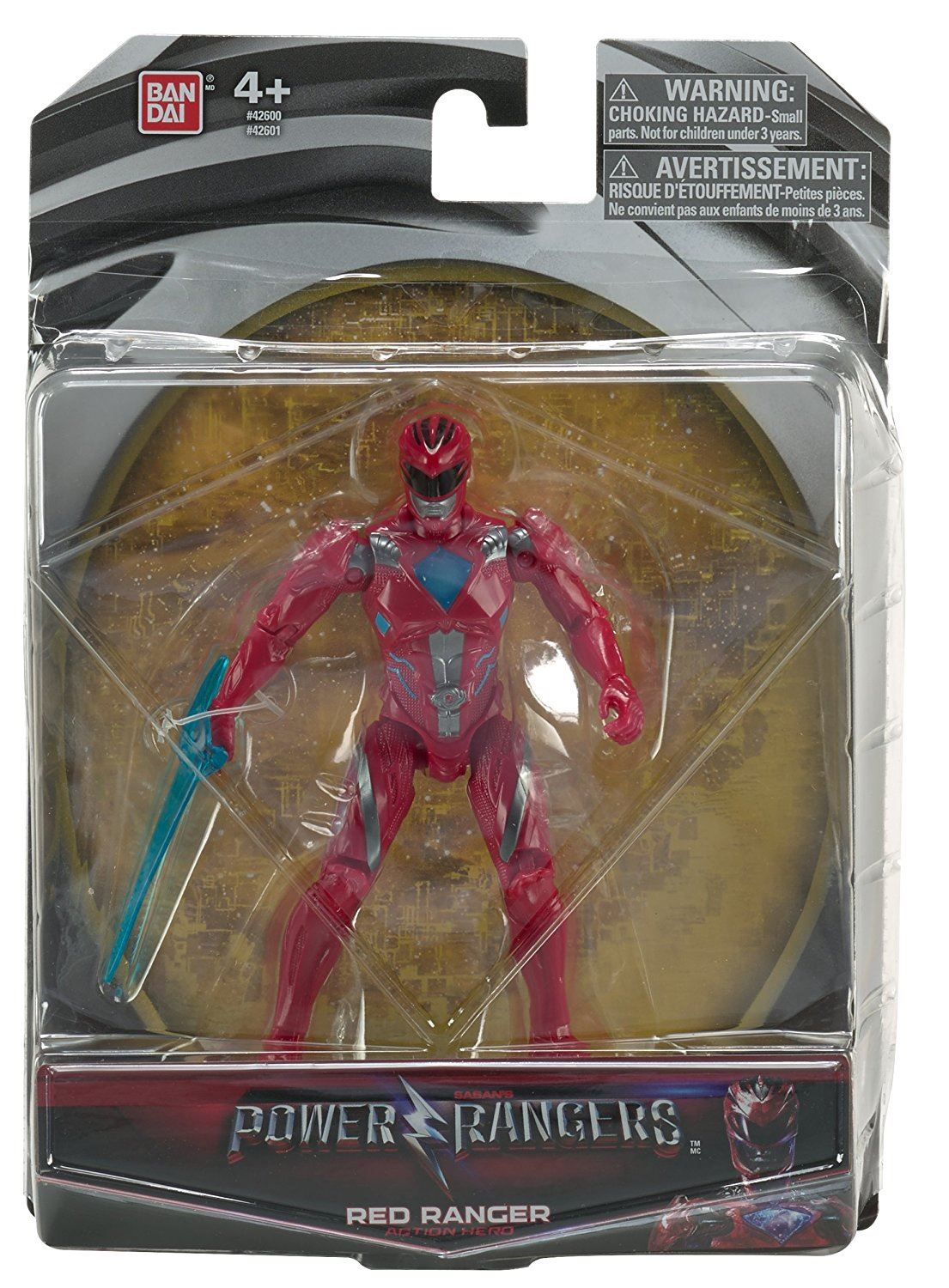 Power Rangers Movie 5 Action Figure - Red Ranger #42601