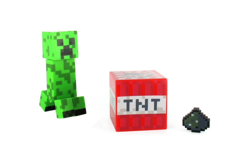 Minecraft 3 action figure zombie enderman steve - Minecraft creeper and steve ...