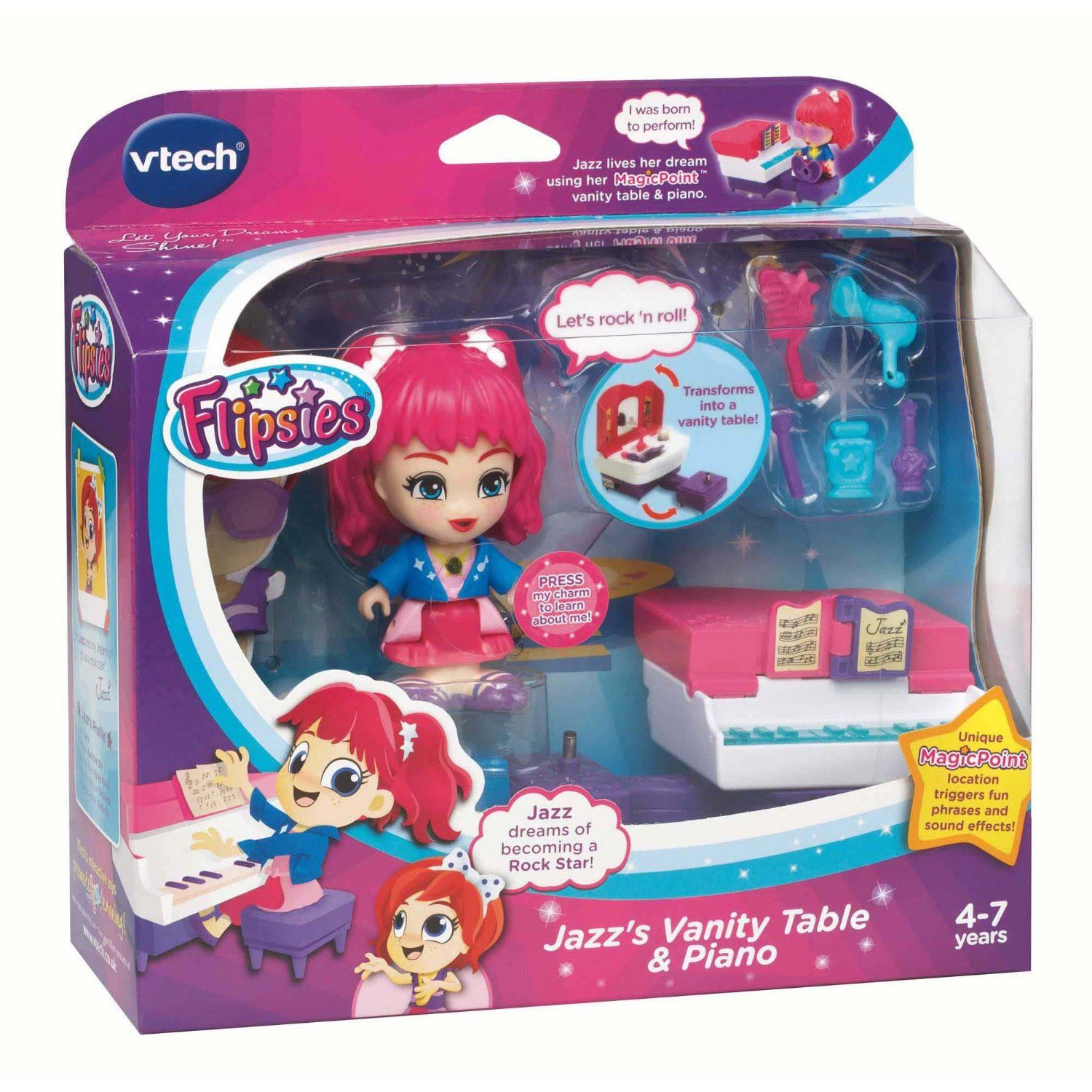 Vtech Flipsies Jazz's Vanity Table & Piano