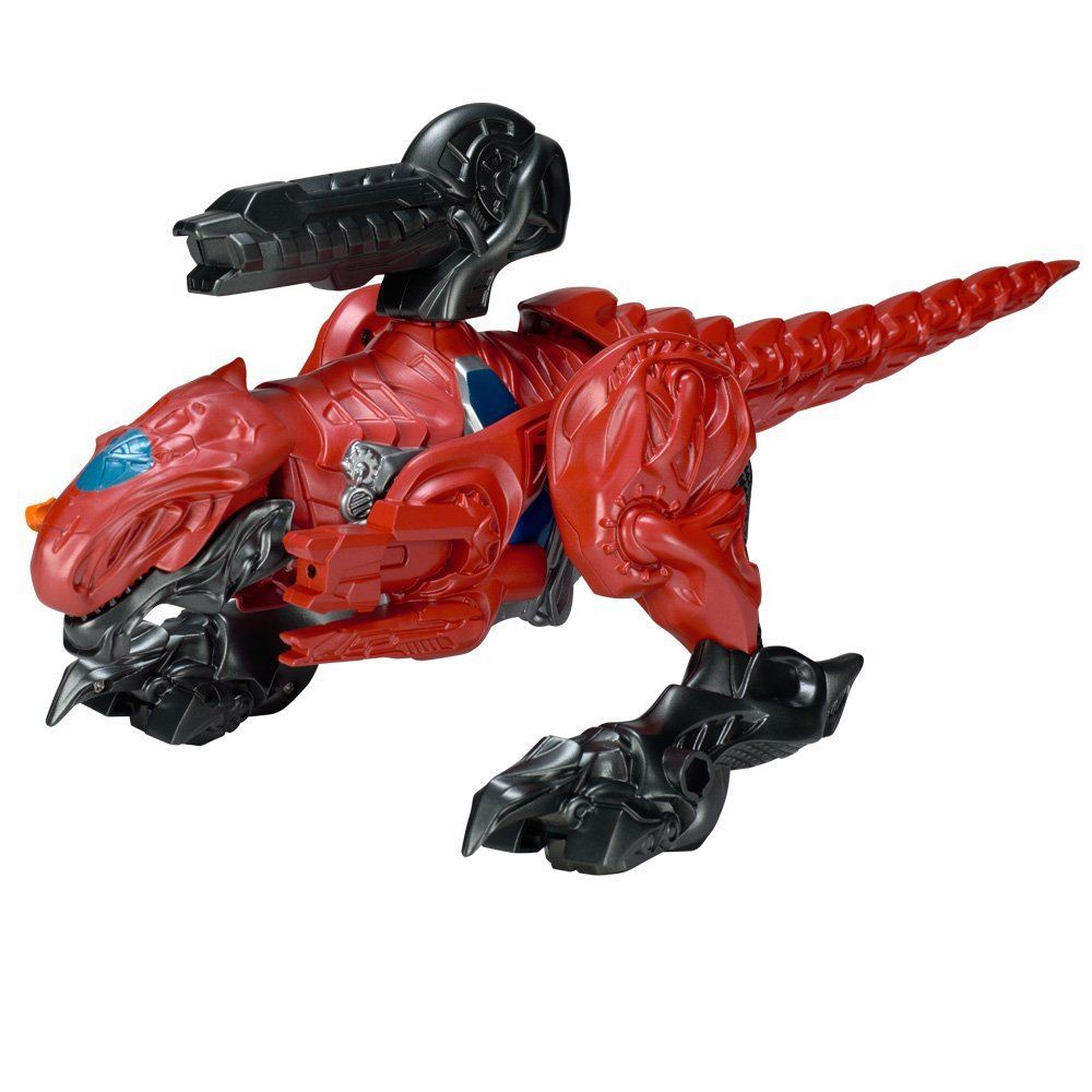 Power Rangers Movie T-rex Zord With Red Ranger #42556