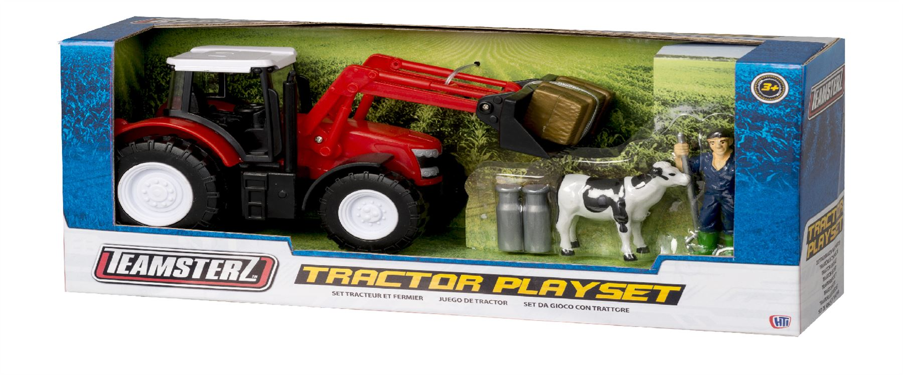 Teamsterz Red Tractor Playset #0526
