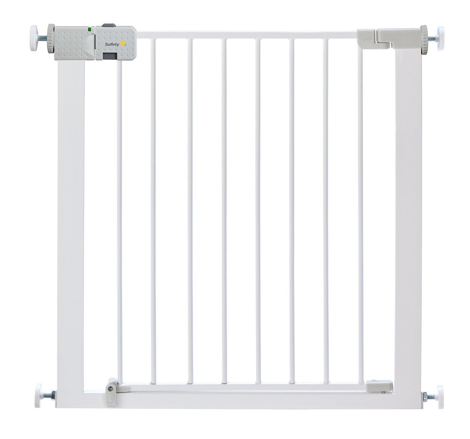 Safety 1st Secure Tech Simply Close Metal Gate - White