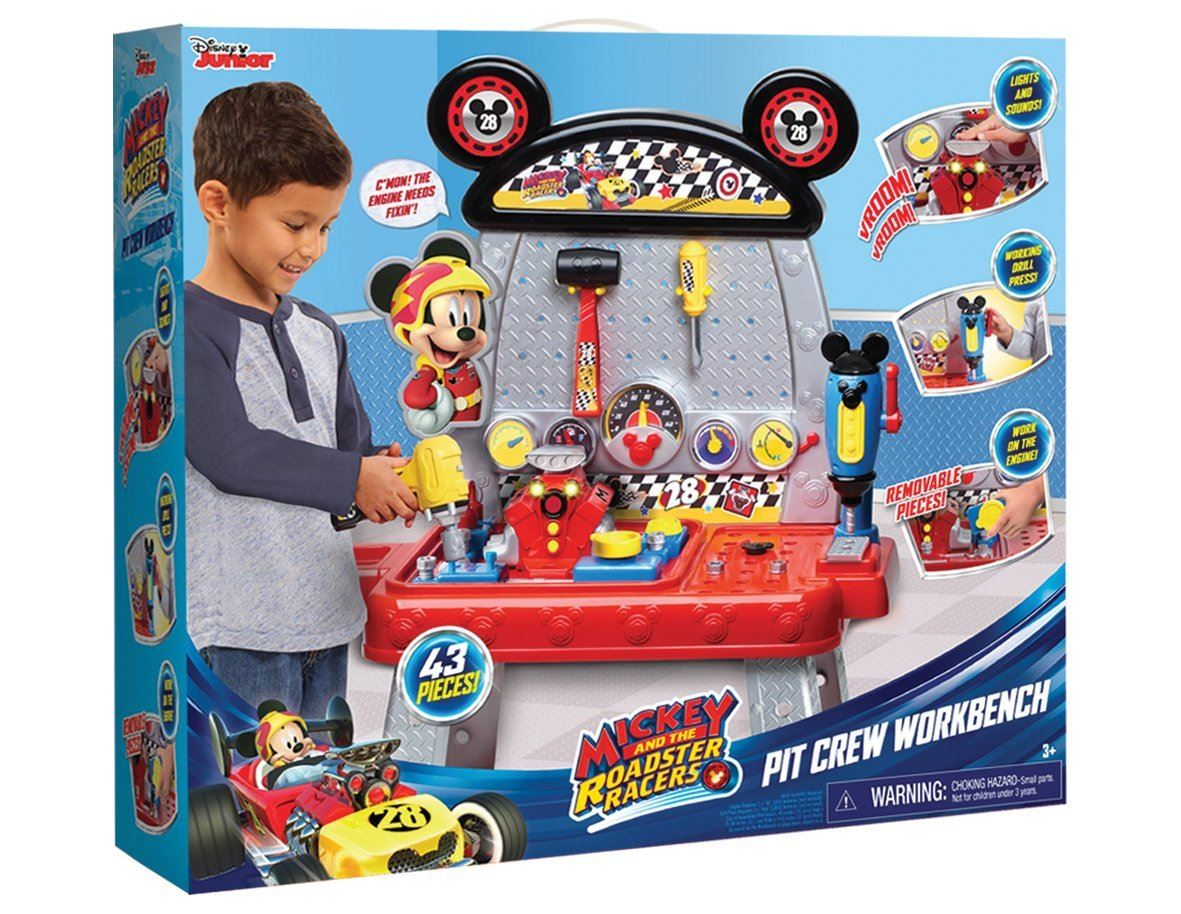 Mickey Roadster Racers Pit Crew Workbench #38276