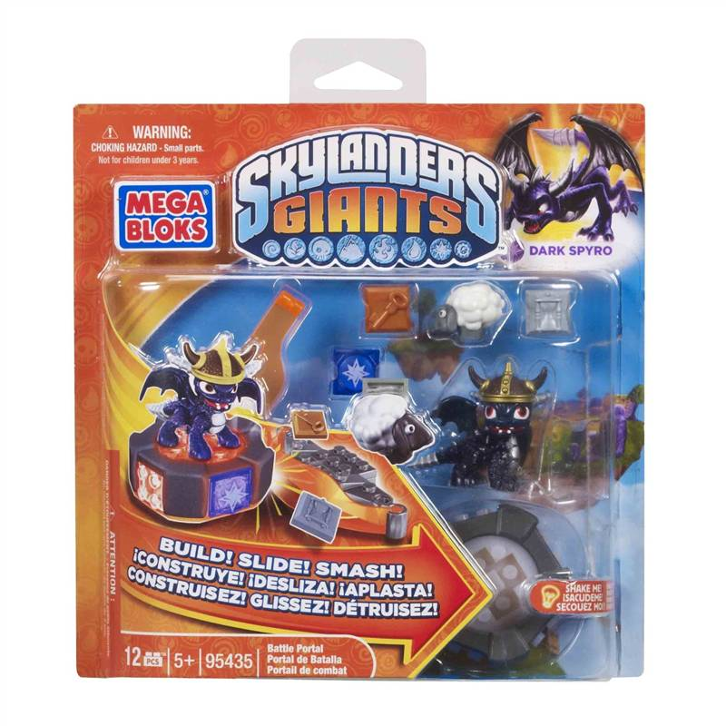 Mega Bloks Skylanders Giants Dark Spyro's Battle Portal