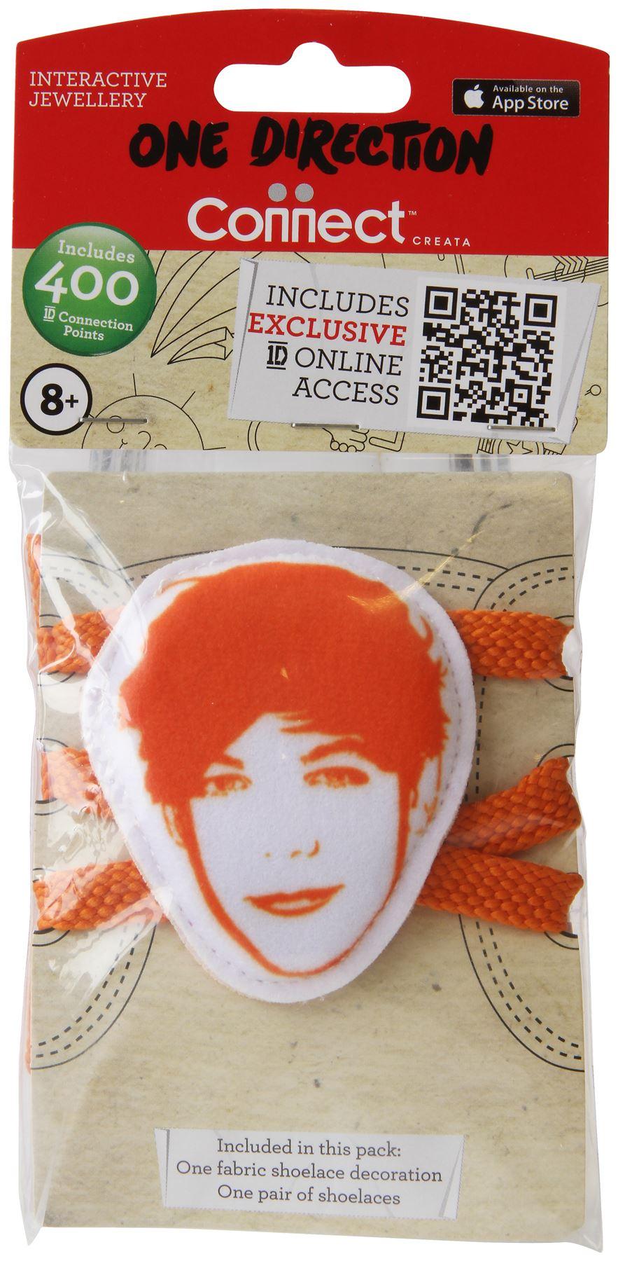 1d Fabric Shoelace Biter Louis Orange One Direction