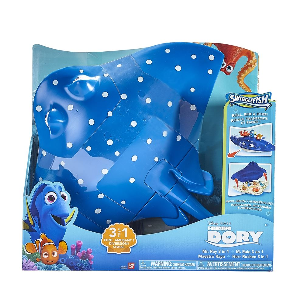 Disney Pixar Finding Dory Mr Ray 3 In 1