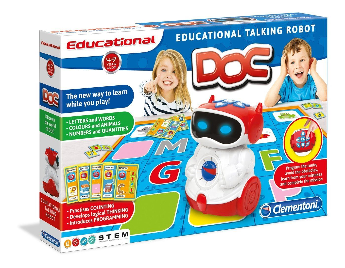 Clementoni Doc Interactive Talking Robot #61323