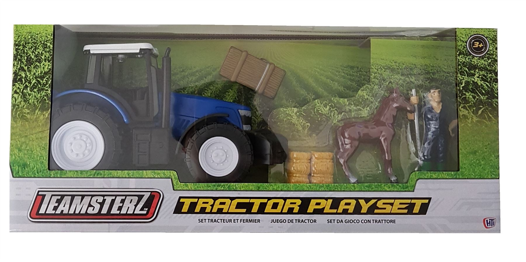 Teamsterz Blue Tractor Playset #0502