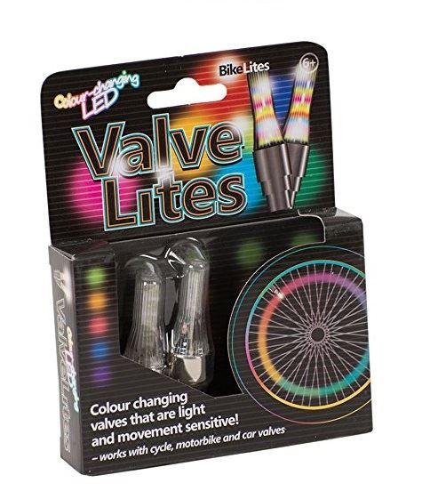 Valve Lites - Colour Changing Bike Lites